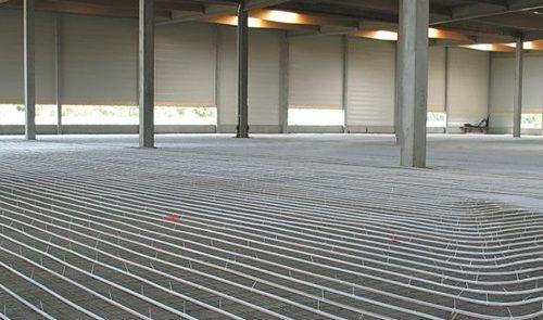 suelo radiante industrial